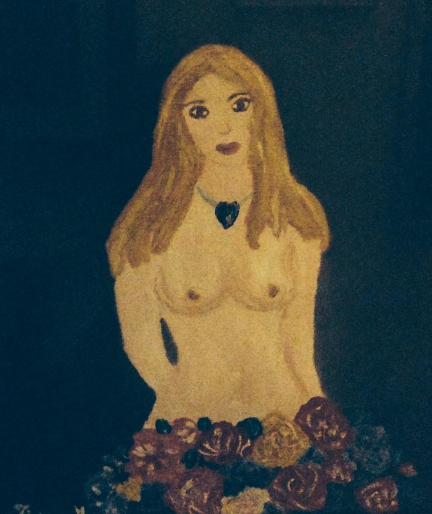 Per Benedetta, Tiziana Mazzaglia, olio su tela, 20x30cm, 1999