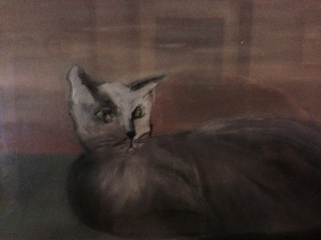 Elia I, Tiziana Mazzaglia, olio su tela 25x30 cm, 1990