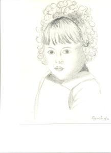 Volto di bambina, Tiziana Mazzaglia 1993